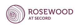Rosewood at Secord logo, for a new community in West Edmonton.