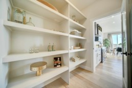 walk through pantry in the midland Showhome in rosewood
