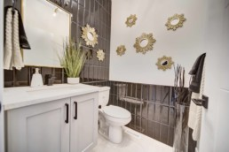 bathroom in the midland by western living homes