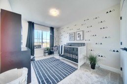 baby room in the midland by western living homes in rosewood