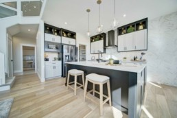 modern kitchen in the midland by western living homes