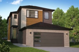 Rendering of The Grahame showhome in rosewood