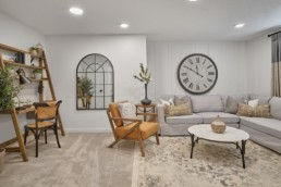 basement in virginia townhome in rosewood