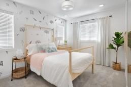 Rosewood virginia townhome bedroom