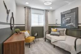 Virginia townhome bedroom in Rosewood