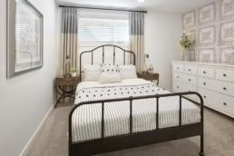 bedroom in virginia townhome in rosewood