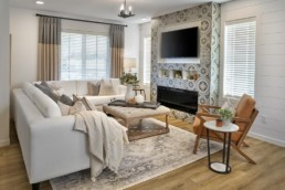 Rosewood virginia townhome great room
