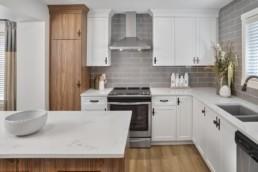 Virginia townhome kitchen