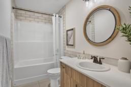 bathroom in virginia townhome in rosewood