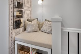 Virginia townhome reading nook in Rosewood
