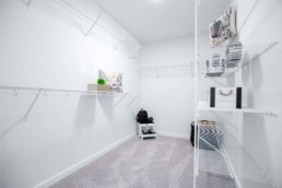 Large Walk-In Closet in The Orlando Showhome at Rosewood