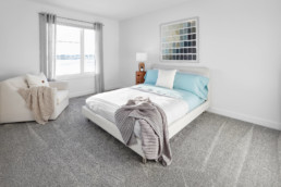 Minimalist Decor Bedroom in The Grahame Showhome