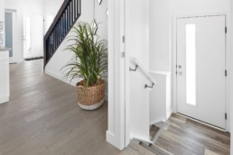 Side Entryway for Basement Suite of The Grahame Showhome in Rosewood