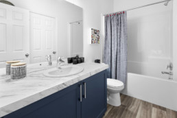 Basement Bathroom in The Grahame Showhome